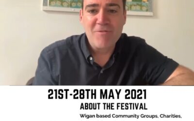 Greater Manchester's Mayor Andy Burnham Supports The MancSpirit #OurWigan Festival