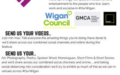 Tom from the Lottery Winners Asking Creatives to get Involved with The #OurWigan Festival